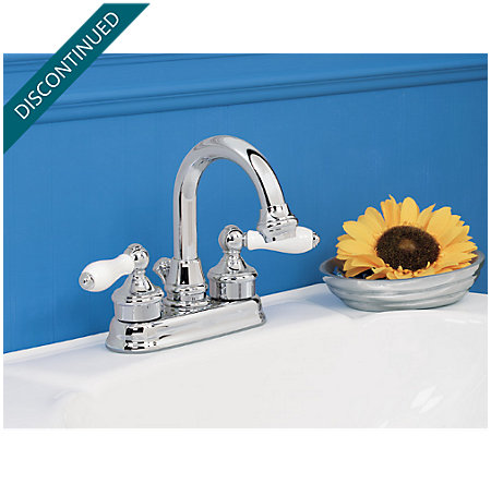 Polished Chrome Savannah Centerset Bath Faucet - T43-H0XC - 3