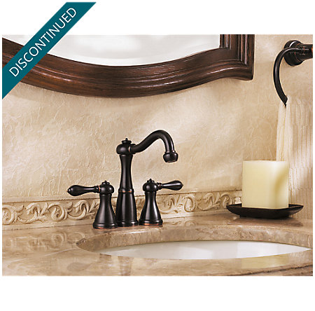 Tuscan Bronze Marielle Mini-Widespread Bath Faucet - T46-M0BY - 3