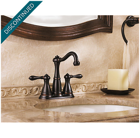 Tuscan Bronze Marielle Mini-Widespread Bath Faucet - T46-M0BY - 4