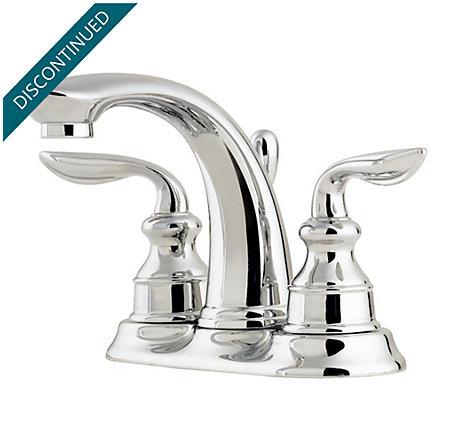 Polished Chrome Avalon Centerset Bath Faucet - T48-CB0C - 1
