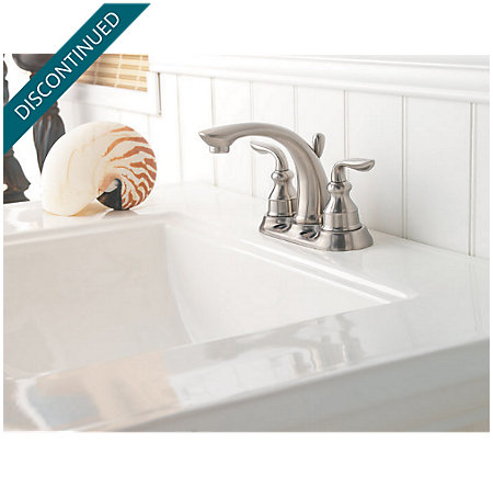 Brushed Nickel Avalon Centerset Bath Faucet - T48-CB0K - 3