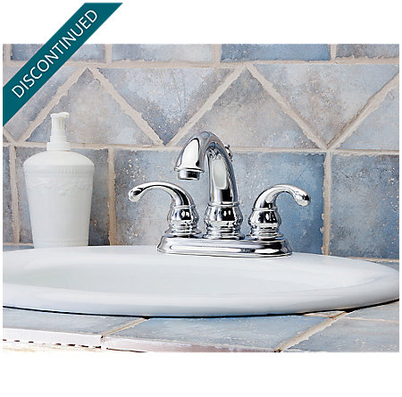 Polished Chrome Treviso Centerset Bath Faucet - T48-DC00 - 2