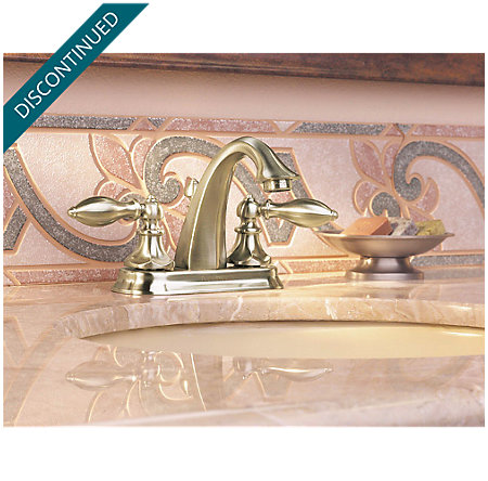 Brushed Nickel Catalina Centerset Bath Faucet - T48-E0BK - 3