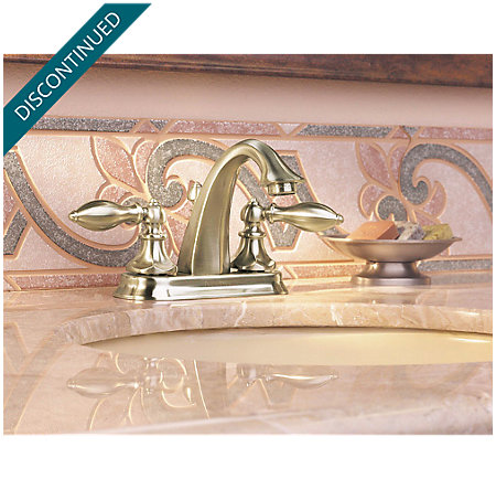 Brushed Nickel Catalina Centerset Bath Faucet - T48-E0BK - 9