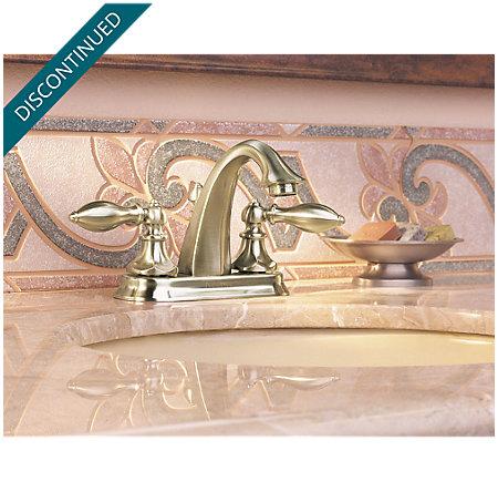 Brushed Nickel Catalina Centerset Bath Faucet - T48-E0BK - 9