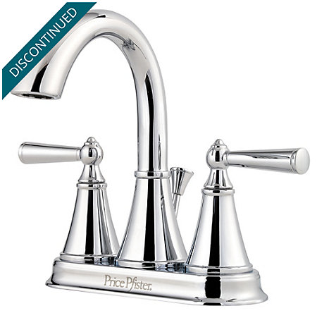 Polished Chrome Saxton Centerset Bath Faucet - T48-GL0C - 1