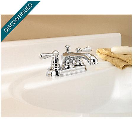 Polished Chrome Portland Centerset Bath Faucet - T48-PC00 - 2