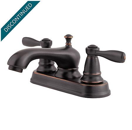 Tuscan Bronze Portland Centerset Bath Faucet - T48-PY00 - 1