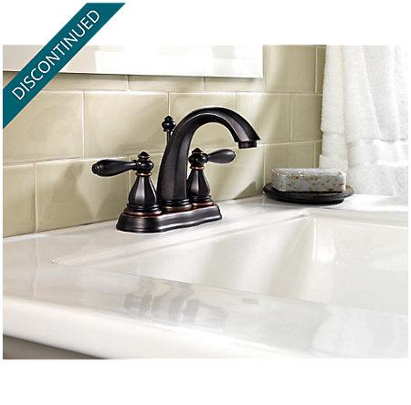 Tuscan Bronze Portola Centerset Bath Faucet - T48-RP0Y - 2