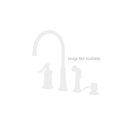 Brushed Nickel / Polished Brass Georgetown Widespread Bath Faucet - T49-BPXK - 1