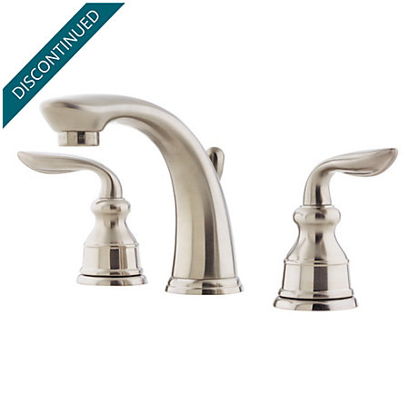 Brushed Nickel Avalon Widespread Bath Faucet - T49-CB0K - 1