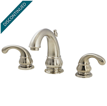 Brushed Nickel Treviso Widespread Bath Faucet - T49-DK00 - 1
