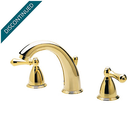 Polished Brass Carmel Centerset Bath Faucet - T49-J0XP - 1