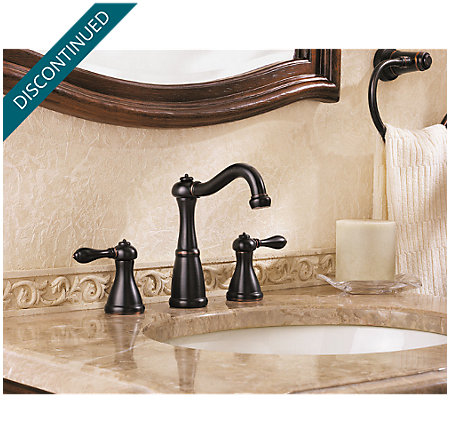Tuscan Bronze Marielle Widespread Bath Faucet - T49-M0BY - 2