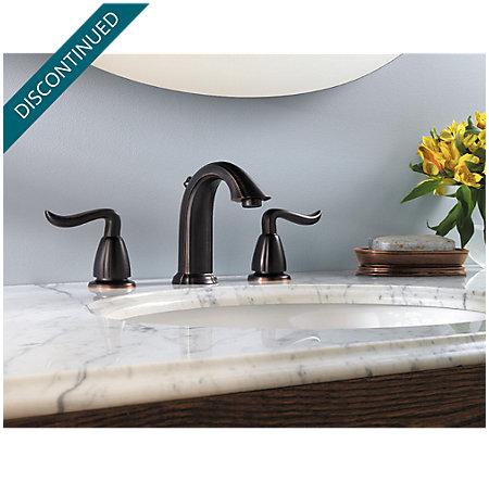 Tuscan Bronze Santiago Widespread Bath Faucet - T49-ST0Y - 2