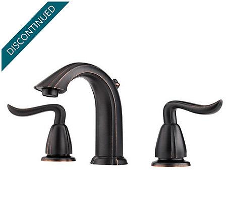 Tuscan Bronze Santiago Widespread Bath Faucet - T49-ST0Y - 1