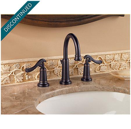 Tuscan Bronze Ashfield Widespread Bath Faucet - T49-YP0Y - 2