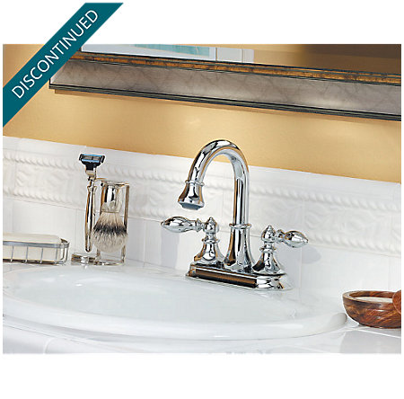 Polished Chrome Catalina Centerset, Pull-out Bath Faucet - T548-EBC - 7