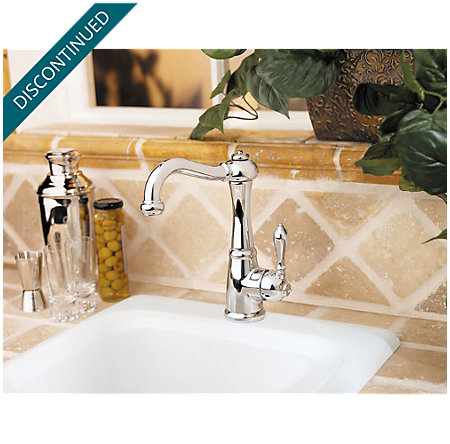 Polished Chrome Marielle  Kitchen Faucet - T72-M1CC - 4
