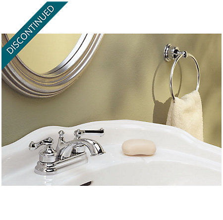 Polished Chrome Classic Centerset Bath Faucet - WLA-220C - 2