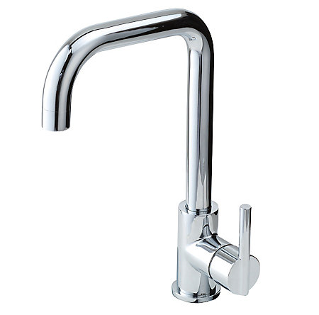 Polished Chrome Fullerton 1-Handle Kitchen Faucet - F-029-3FTC - 1