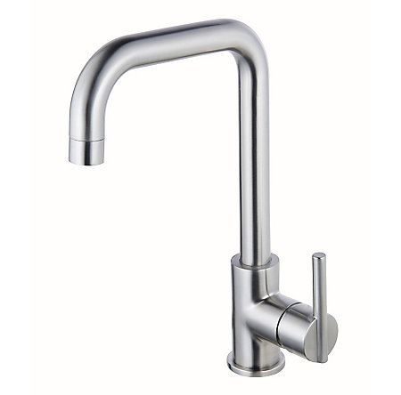 Stainless Steel Fullerton 1-Handle Kitchen Faucet - F-029-3FTS - 1
