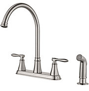 glenora 2-handle kitchen faucet