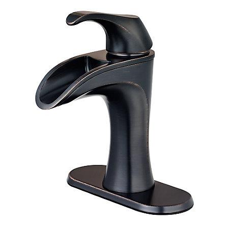 Tuscan Bronze Brea Single Control - Centerset Bath Faucet - F-042-BRYY - 2