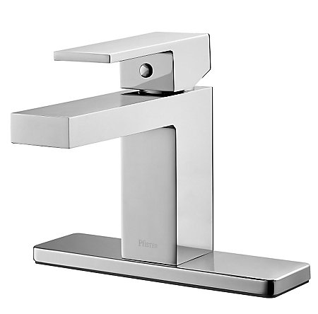 Polished Chrome Evanton Single Control, Centerset Bath Faucet - F-042-EVCC - 2