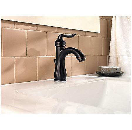 Tuscan Bronze Sedona Single Control, Centerset Bath Faucet - F-042-LT0Y - 3
