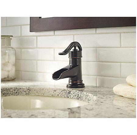 Tuscan Bronze Pendleton Single Control, Centerset Bath Faucet - F-042-PNYY - 3
