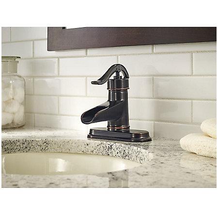 Tuscan Bronze Pendleton Single Control, Centerset Bath Faucet - F-042-PNYY - 4