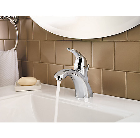 Polished Chrome Parisa Single Control, Centerset Bath Faucet - LF-042-PRCC - 4