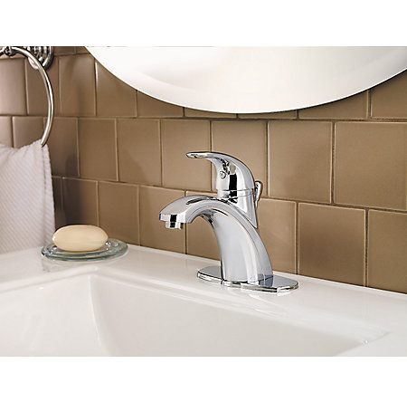Polished Chrome Parisa Single Control, Centerset Bath Faucet - LF-042-PRCC - 5