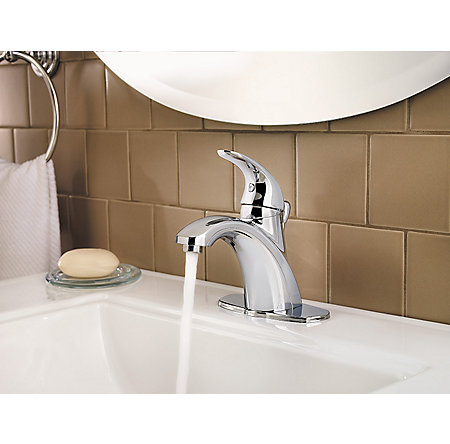Polished Chrome Parisa Single Control, Centerset Bath Faucet - LF-042-PRCC - 6