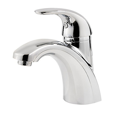 Polished Chrome Parisa Single Control, Centerset Bath Faucet - LF-042-PRCC - 1