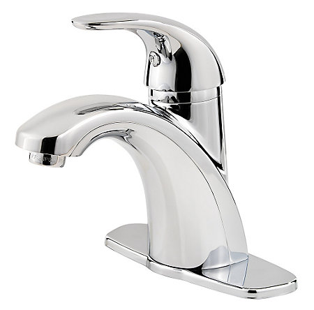 Polished Chrome Parisa Single Control, Centerset Bath Faucet - LF-042-PRCC - 2