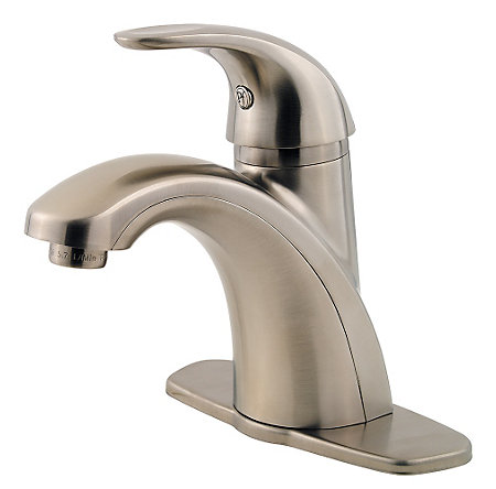 Brushed Nickel Parisa Single Control, Centerset Bath Faucet - LF-042-PRKK - 2
