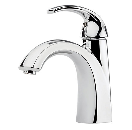 Polished Chrome Selia Single Control, Centerset Bath Faucet - F-042-SLCC - 1