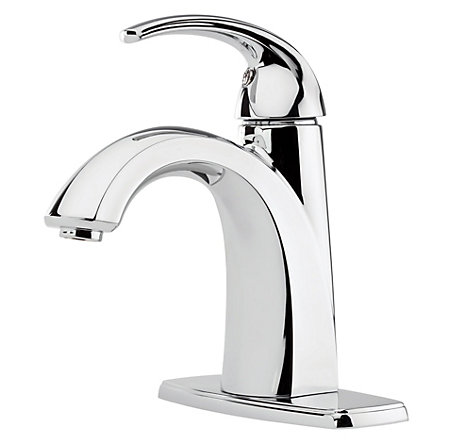 Polished Chrome Selia Single Control, Centerset Bath Faucet - F-042-SLCC - 2