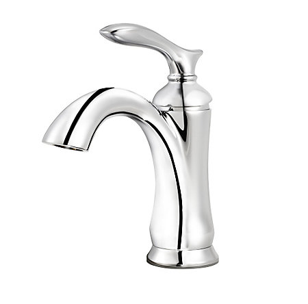 polished chrome verano single control bath faucet - f-042-vrcc - 1