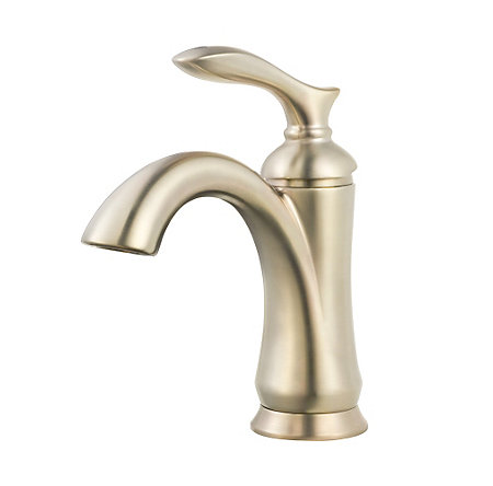 Brushed Nickel Verano Single Control Bath Faucet - F-042-VRKK - 1