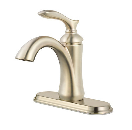 Brushed Nickel Verano Single Control Bath Faucet - F-042-VRKK - 2