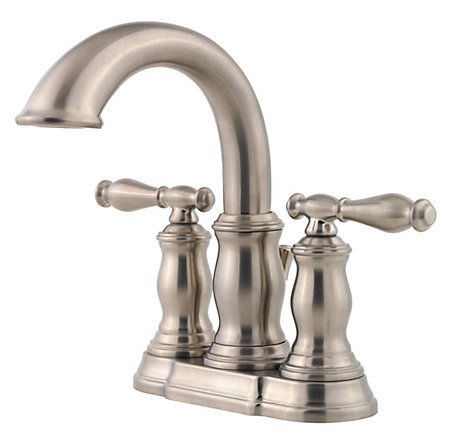 Brushed Nickel Hanover Centerset Bath Faucet - F-043-TMKK - 1
