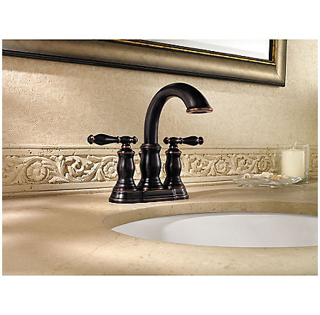 tuscan bronze hanover centerset bath faucet - f-043-tmyy - 2