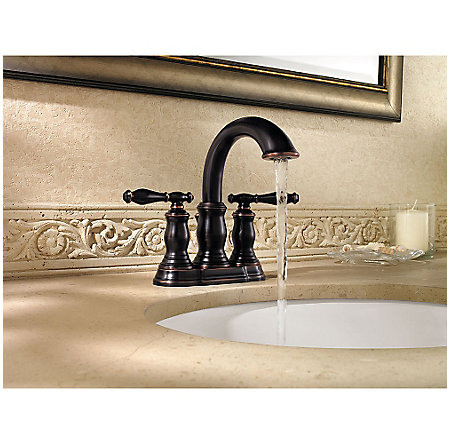 tuscan bronze hanover centerset bath faucet - f-043-tmyy - 3