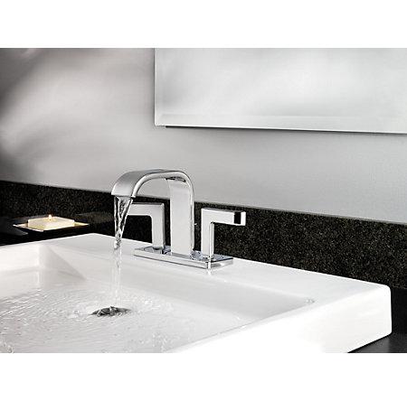 Polished Chrome Skye Centerset Bath Faucet - F-046-SYCC - 3