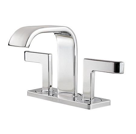 Polished Chrome Skye Centerset Bath Faucet - F-046-SYCC - 1