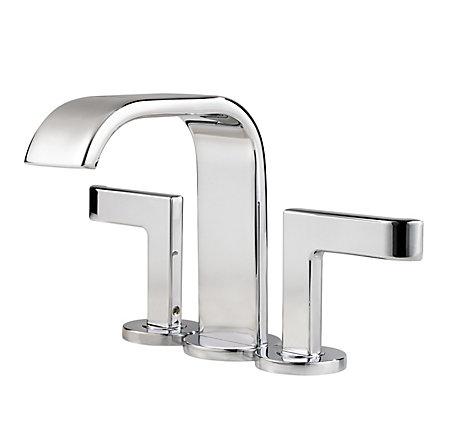 Polished Chrome Skye Centerset Bath Faucet - F-046-SYCC - 2