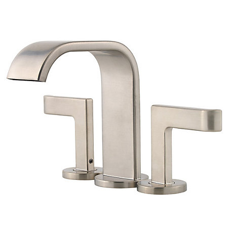 Brushed Nickel Skye Centerset Bath Faucet - F-046-SYKK - 1